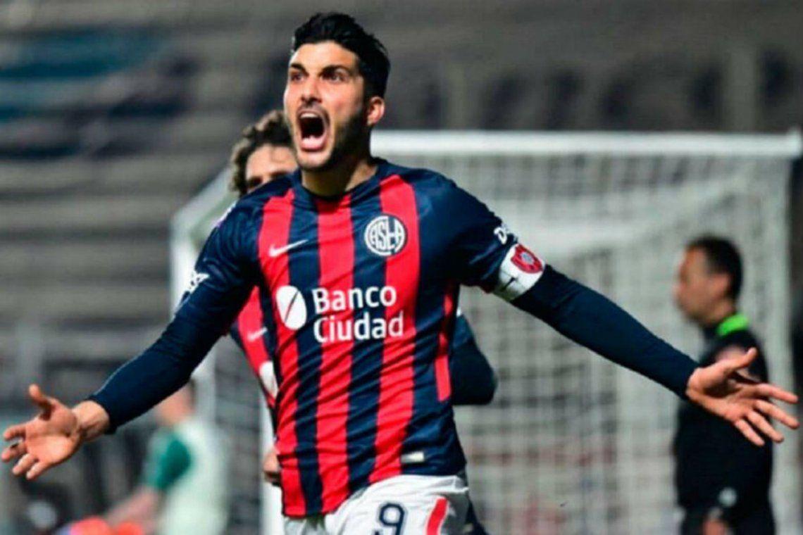 Nicolas Blandi con ganas de volver a San Lorenzo.