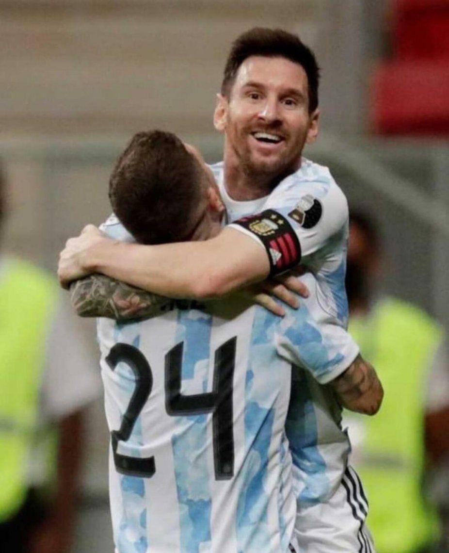 Argentina le ganó 1-0 a Paraguay.