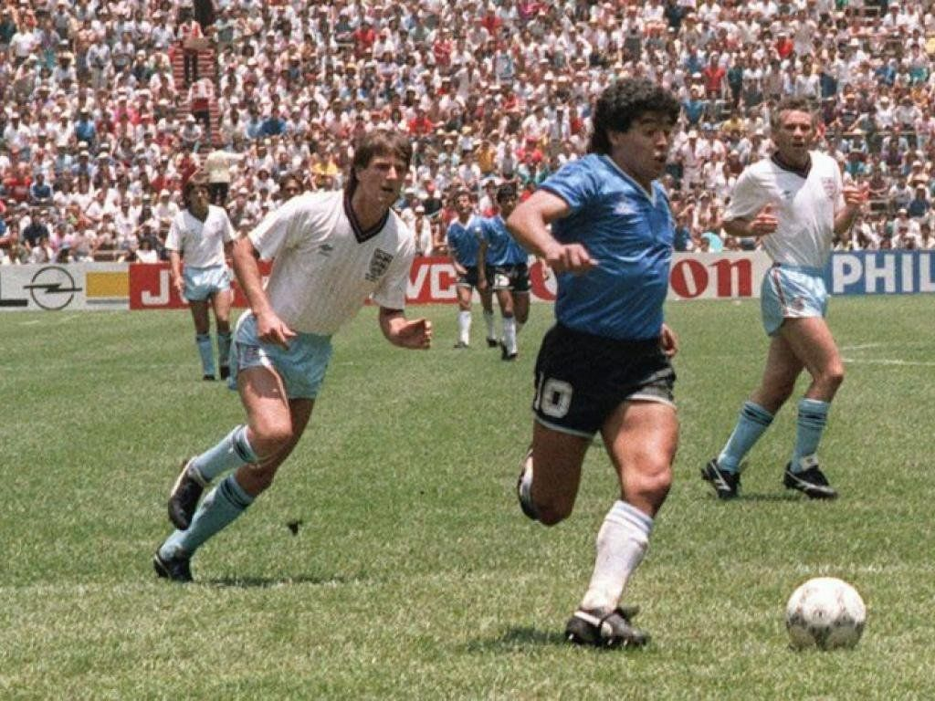 Proponen volver a gritar hoy el gol de Maradona a Inglaterra