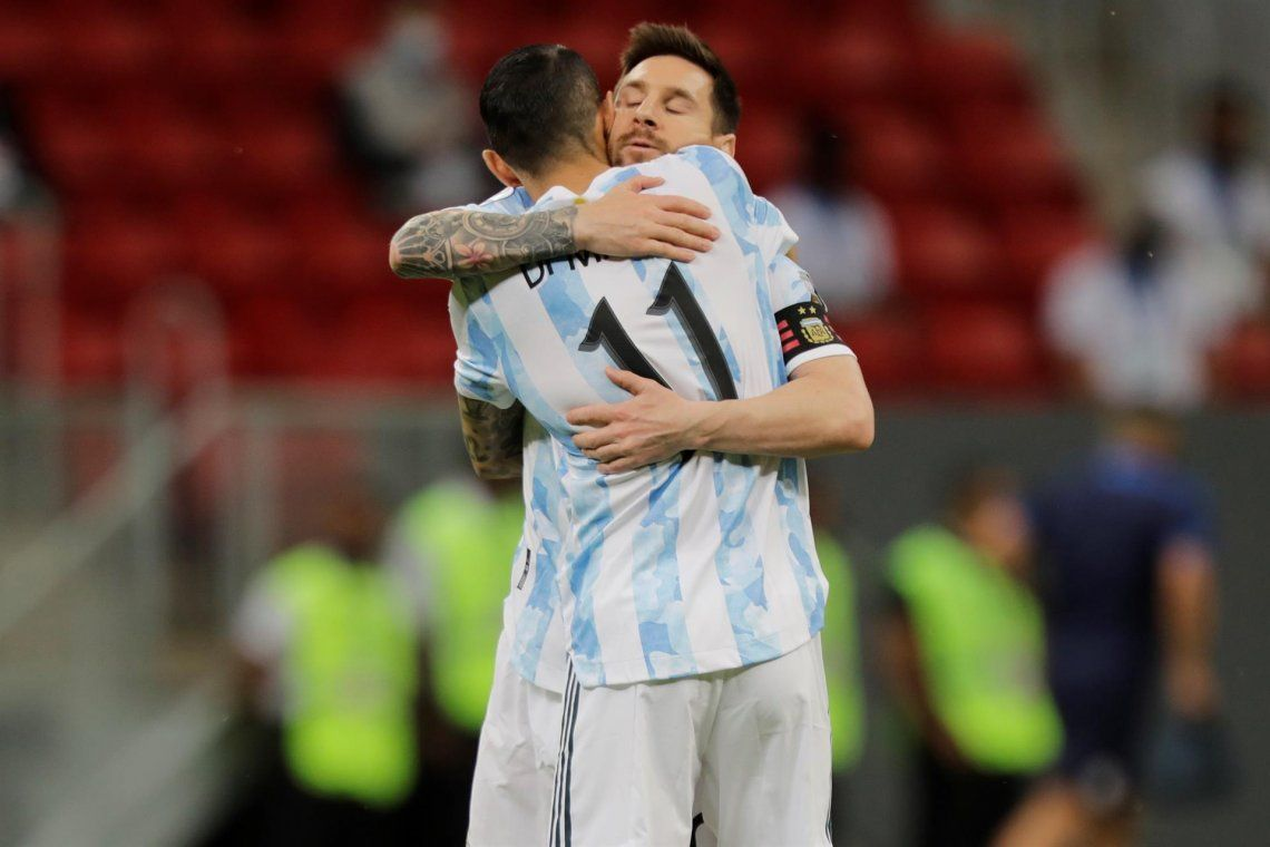 Las mejores fotos de la victoria de la Selección Argentina ante Paraguay