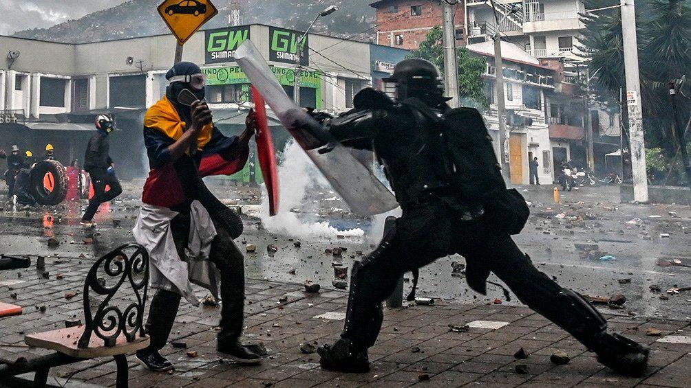 Colombia: otro muerto en nueva represión durante protesta contra Duque