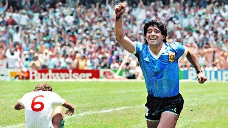 Argentina volvió a gritar el gol de Maradona a los ingleses.