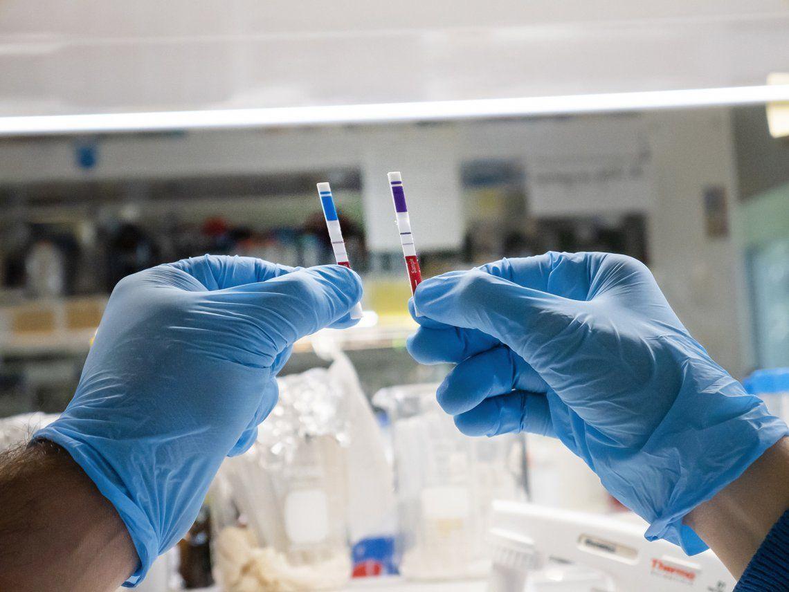 Presentaron un test rápido de detección de antígenos