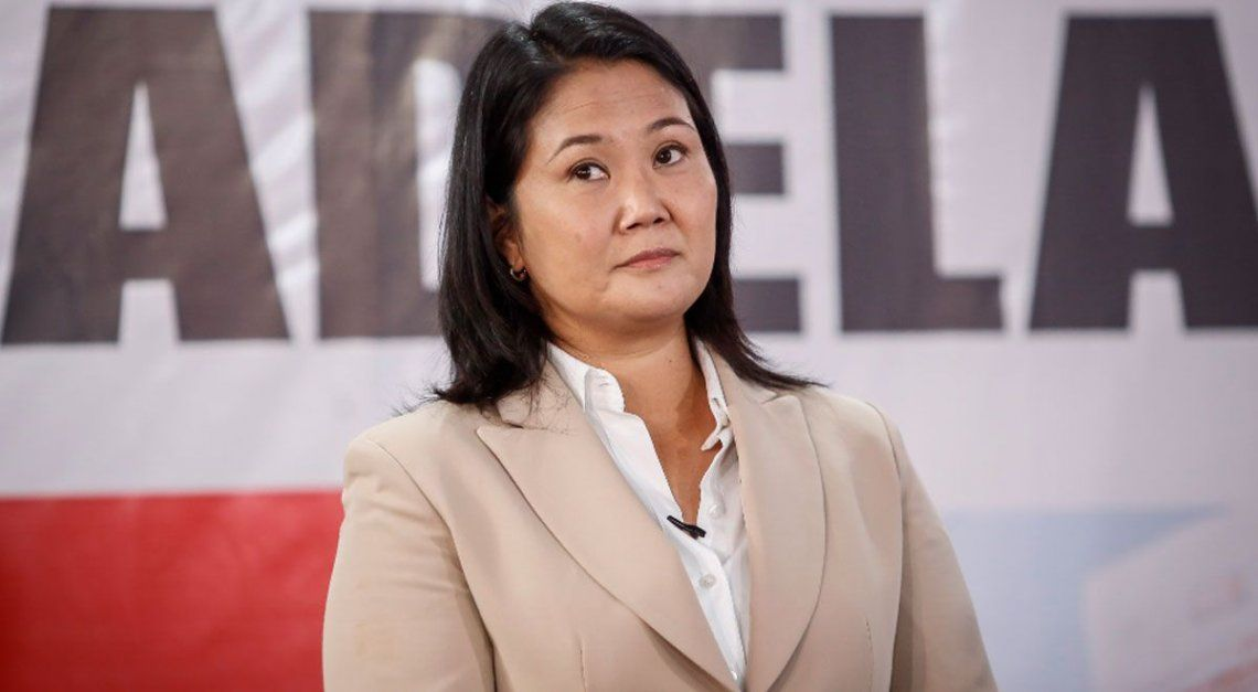 La aspirante de Fuerza Popular ha iniciado una campaña judicial para revertir el conteo.