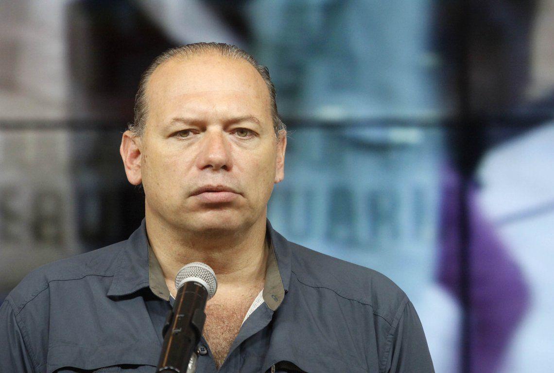 El ministro de Seguridad de la provincia de Buenos Aires