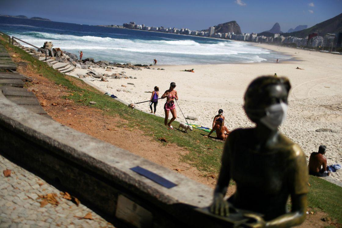 Río de Janeiro: detectaron una nueva variante de coronavirus