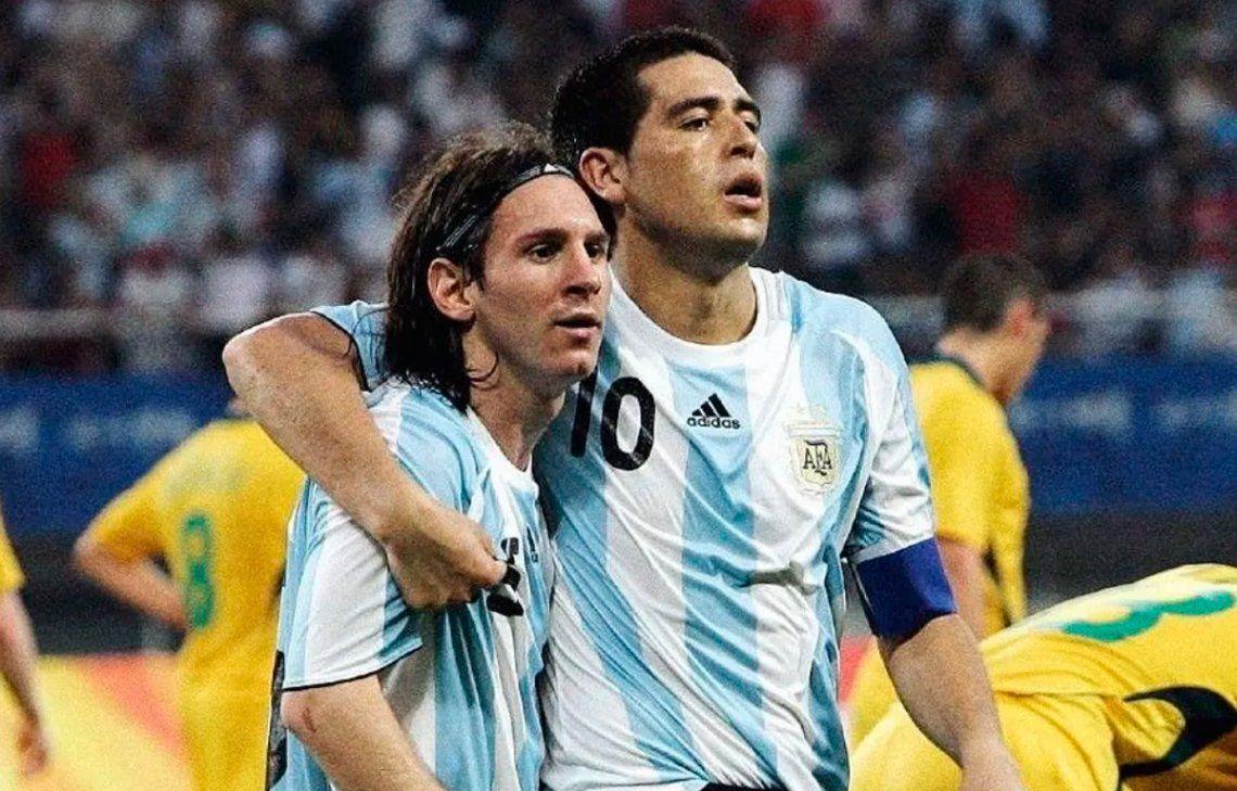El día del fútbol: Messi y Riquelme cumplen años
