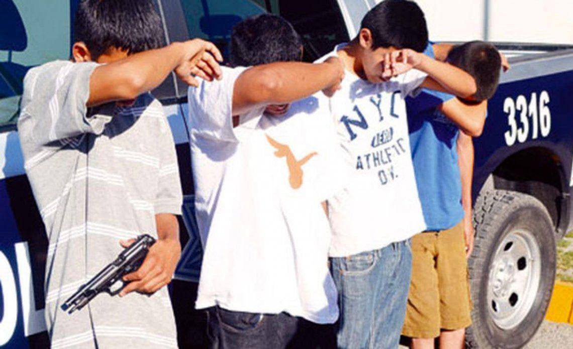 Datos de la Justicia: creció un 38% la cantidad de menores en robos violentos