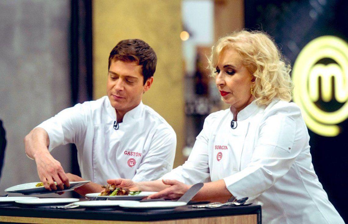 Gastón Dalmau y Georgina Barbarossa definen esta noche el ganador de MasterChef Celebrity 2.