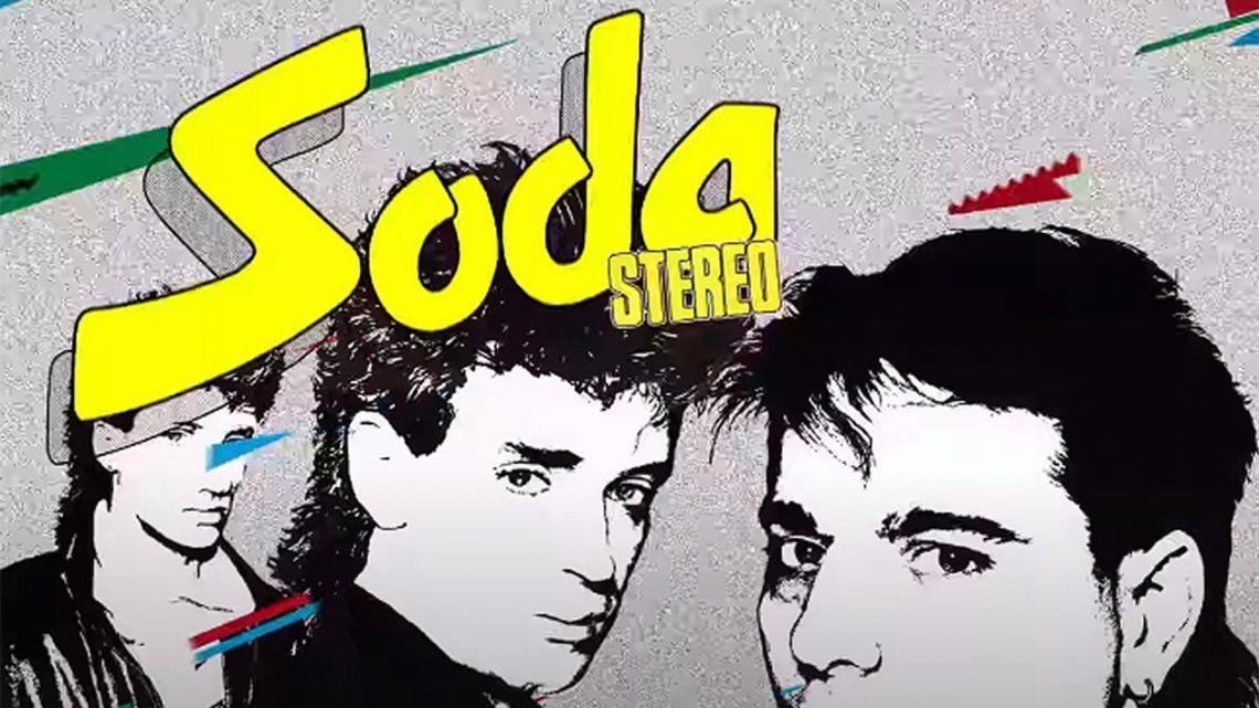 Soda Stereo: Lanzan video animado de uno de los primeros hits.