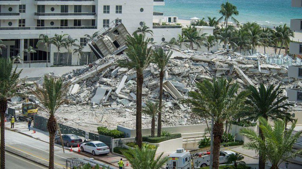Por lo menos 99 personas desaparecidas en Miami.