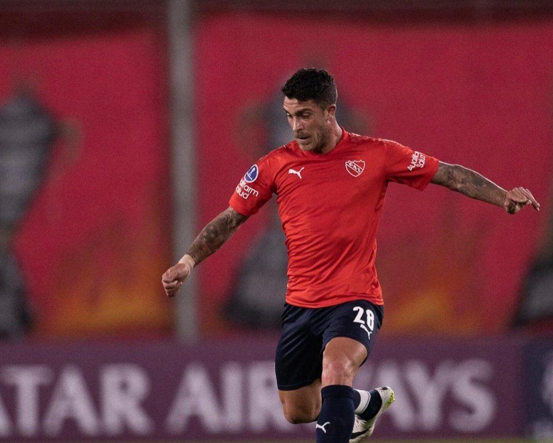 Adrián Arregui se despidió de Independiente.
