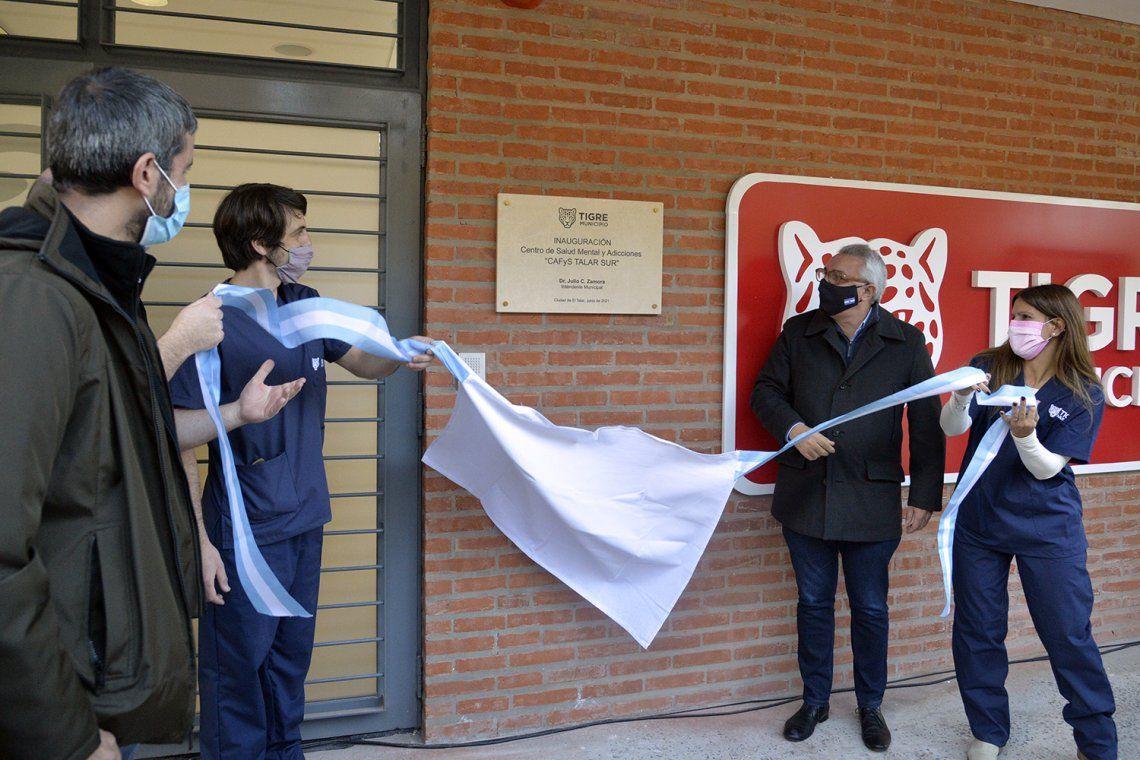 Inauguraron el CAFYS y Centro de Salud Mental y Adicciones de Talar sur