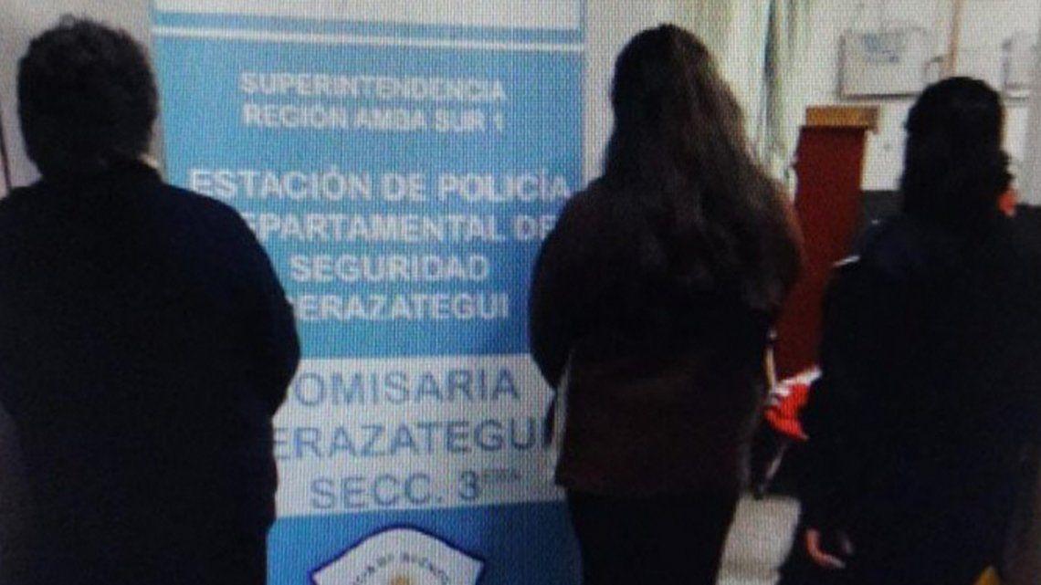 La mujer policía fue detenida por el asesinato de su tío en  Berazategui.