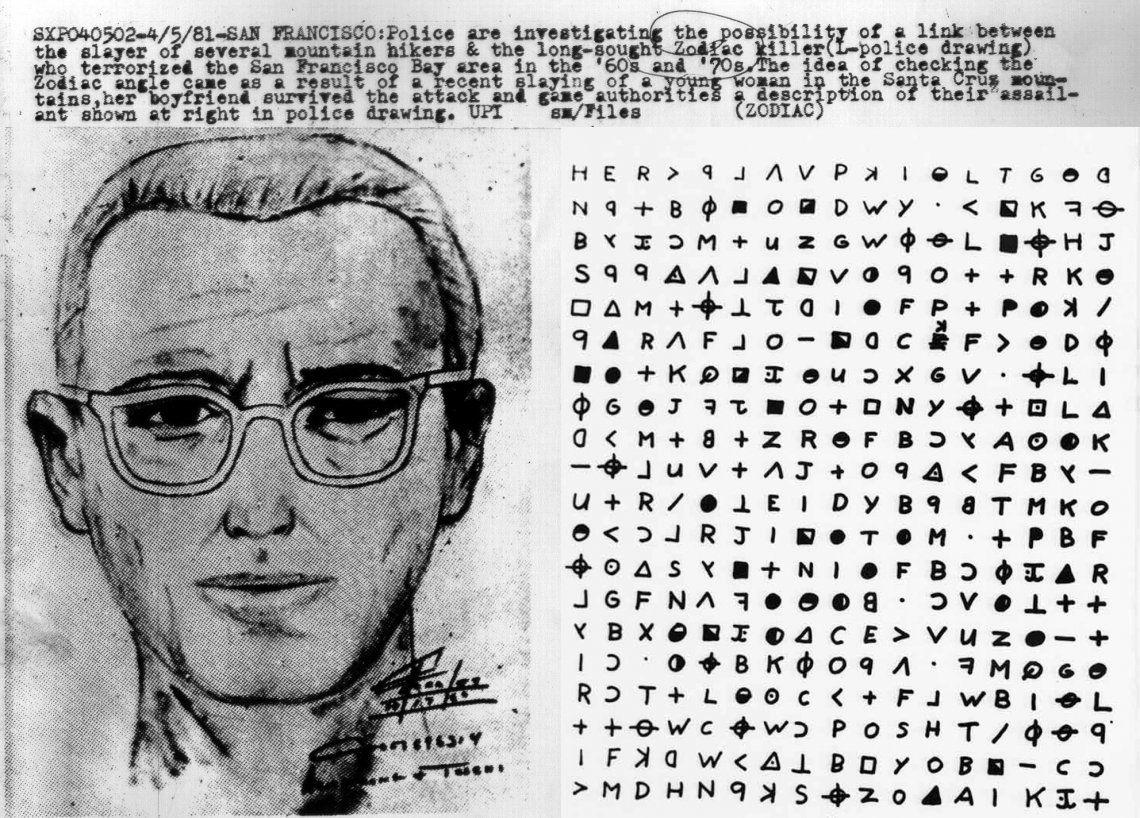 Un ingeniero afirma que descifró los enigmáticos mensajes finales del Asesino del Zodíaco