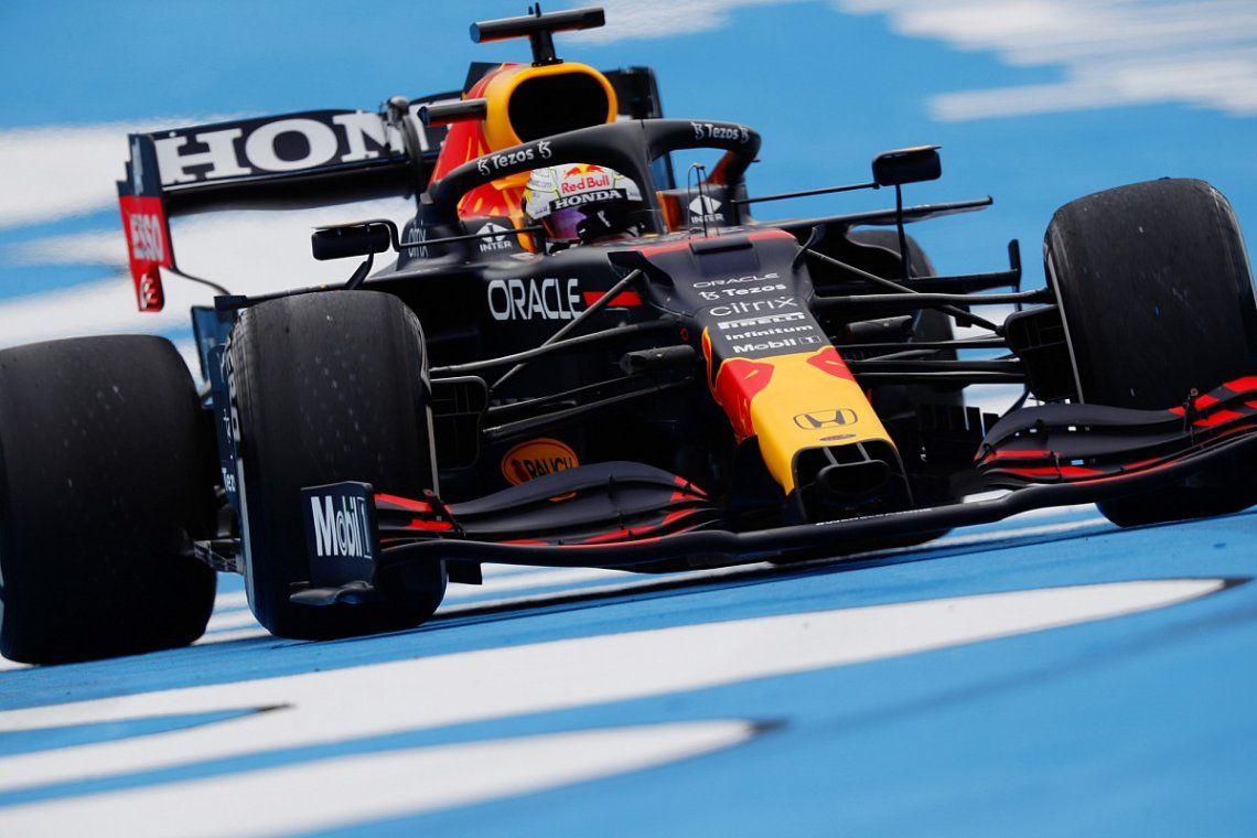 Max Verstappen fue el más ligero en Austria
