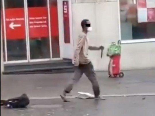 Alemania: 3 muertos y 5 heridos por un ataque con cuchillo