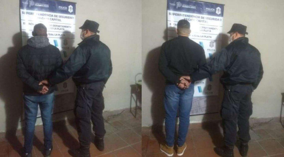 Dos detenidos por el hecho.