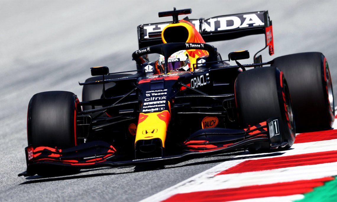 Fórmula 1: Max Verstappen largará adelante en Austria.