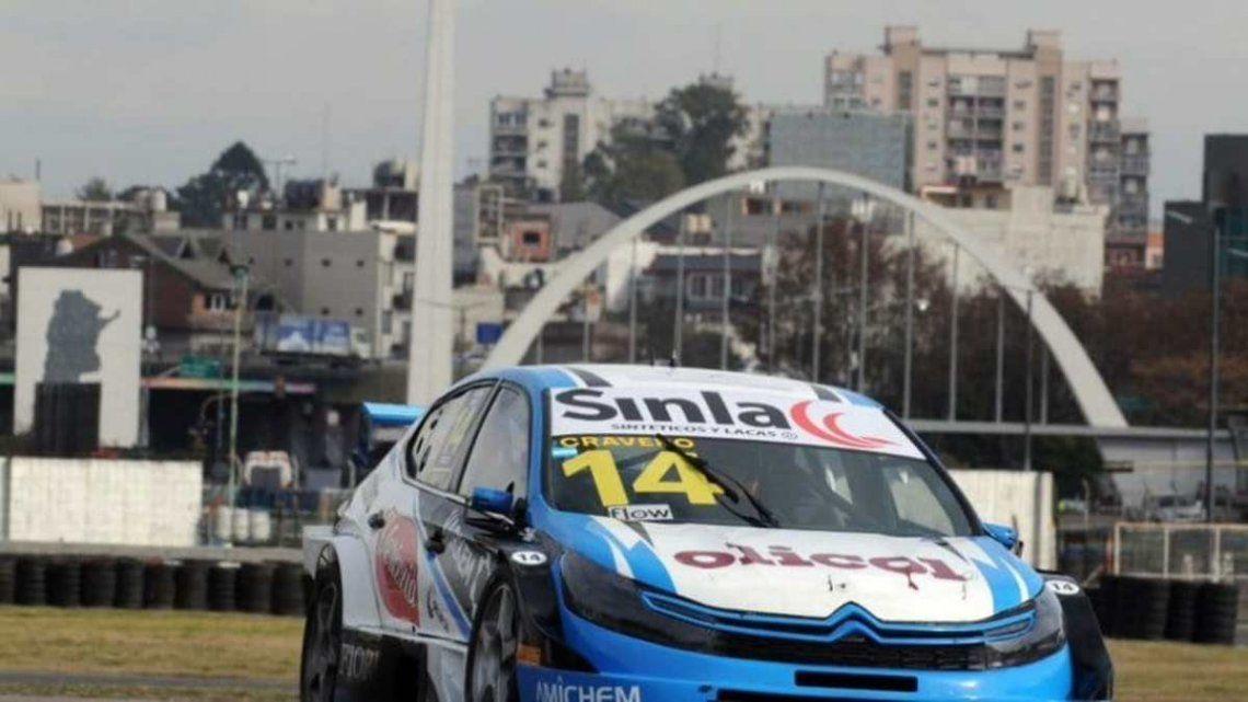 Matías Craveo brilló en el autódromo de Buenos Aires