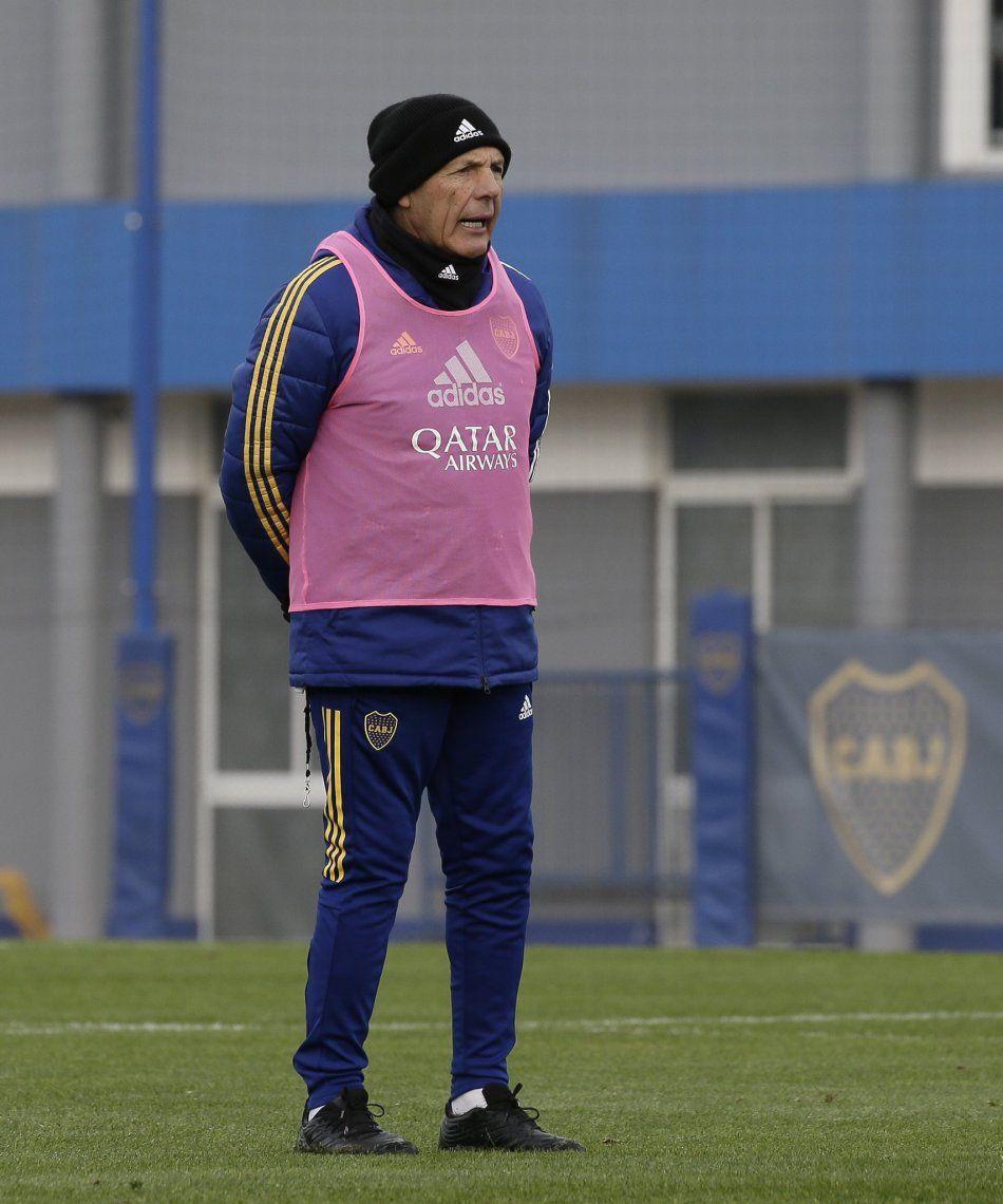 Miguel Ángel Russo va delineando el equipo para la Copa