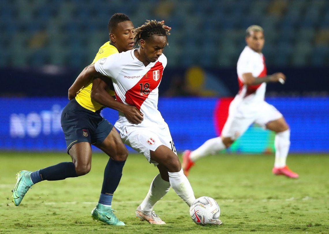 Perú viene de igualar con Ecuador y con otro punto se clasificará a cuartos de final
