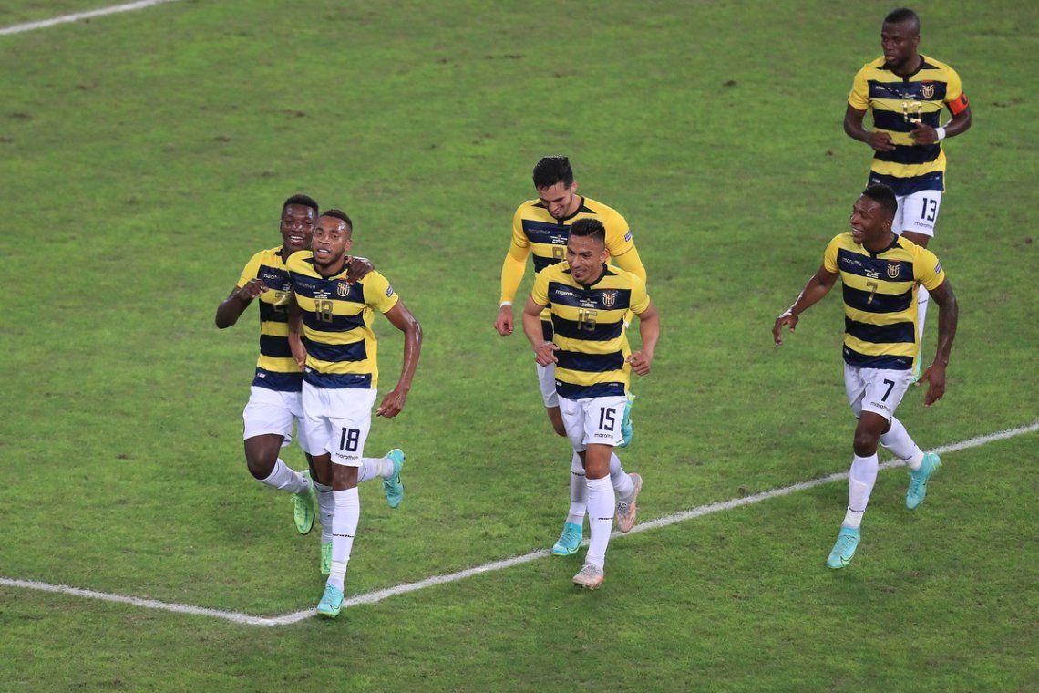 Ecuador tiene los mismos puntos que Venezuela y se juega la chance.