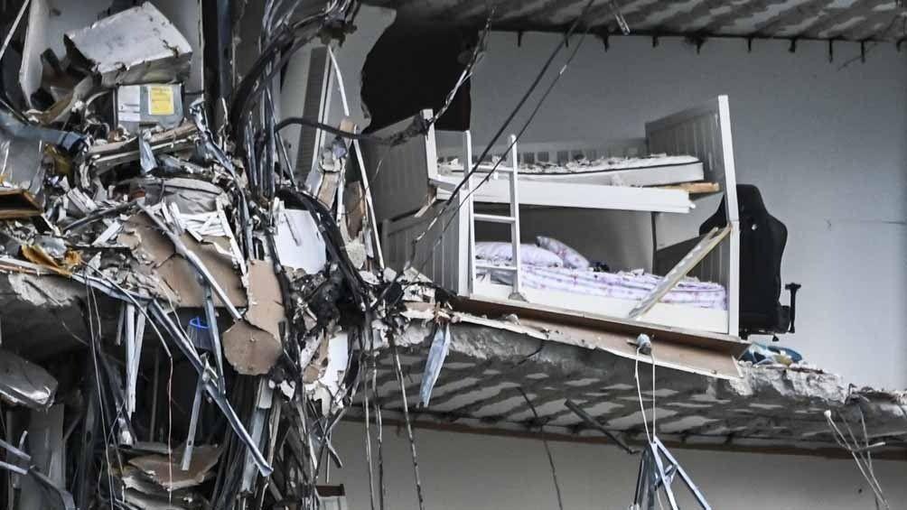 Derrumbe en Miami: encontraron más cuerpos en los escombros.