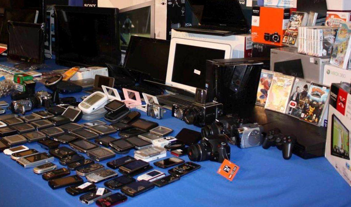 Creció más del 60% la venta online de productos robados