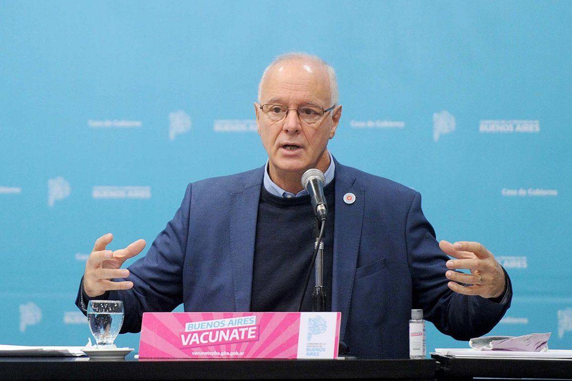 Gollan dejará de ser ministro de Salud bonaerense mañana: lo reemplazará Kreplak