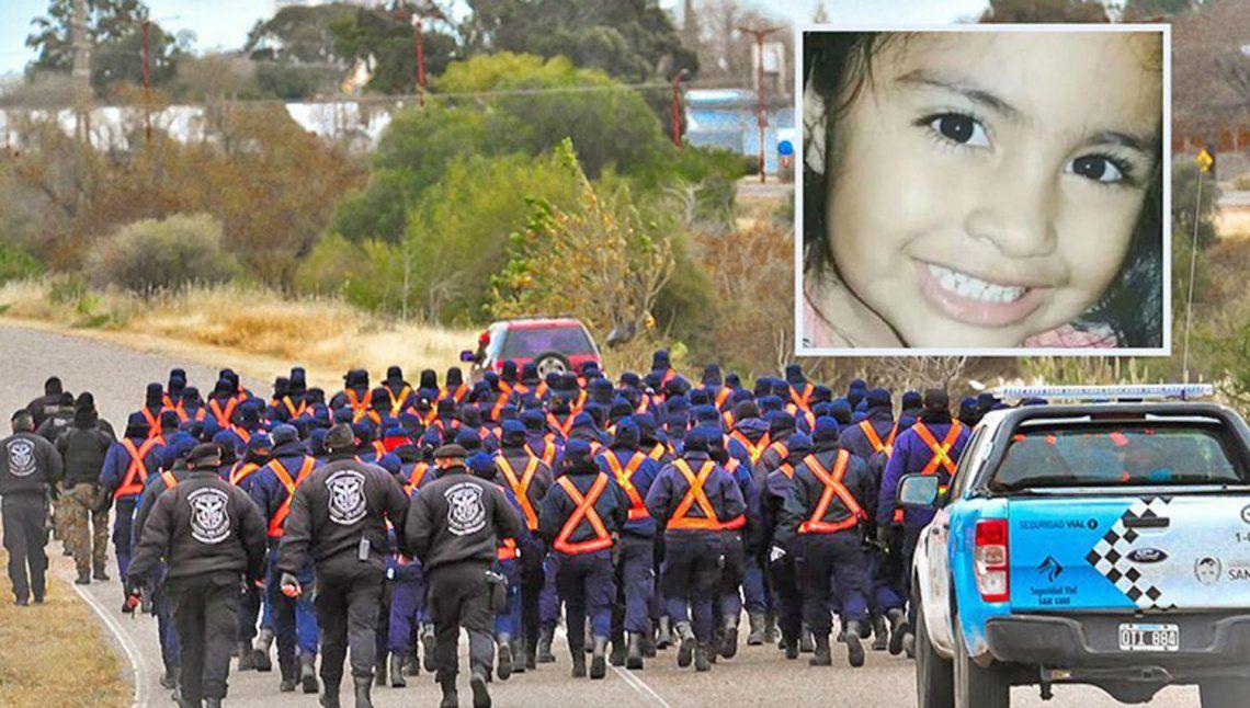 Hasta el momento son 154 los allanamientos que se han practicado para obtener indicios de la nena desaparecida.