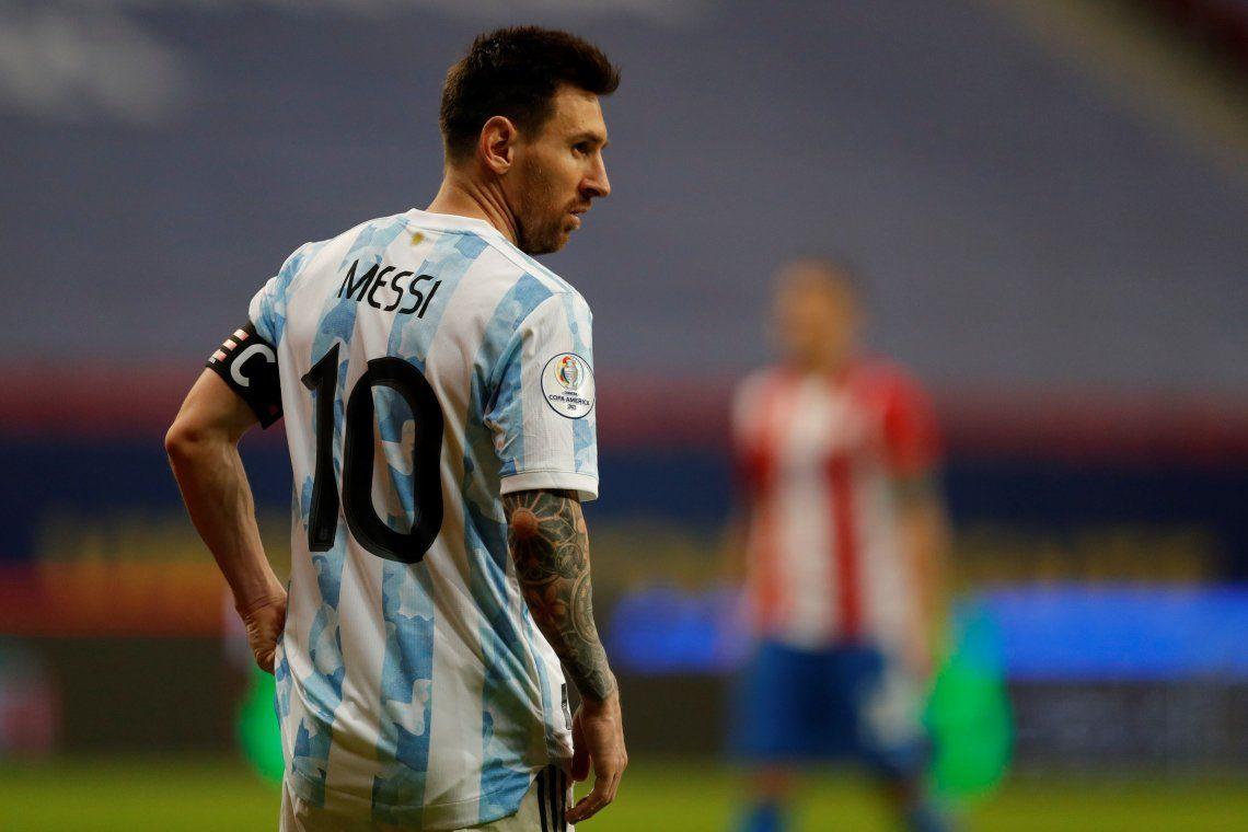 Más presencias que ninguno: Messi se convirtió en una leyenda de Argentina.