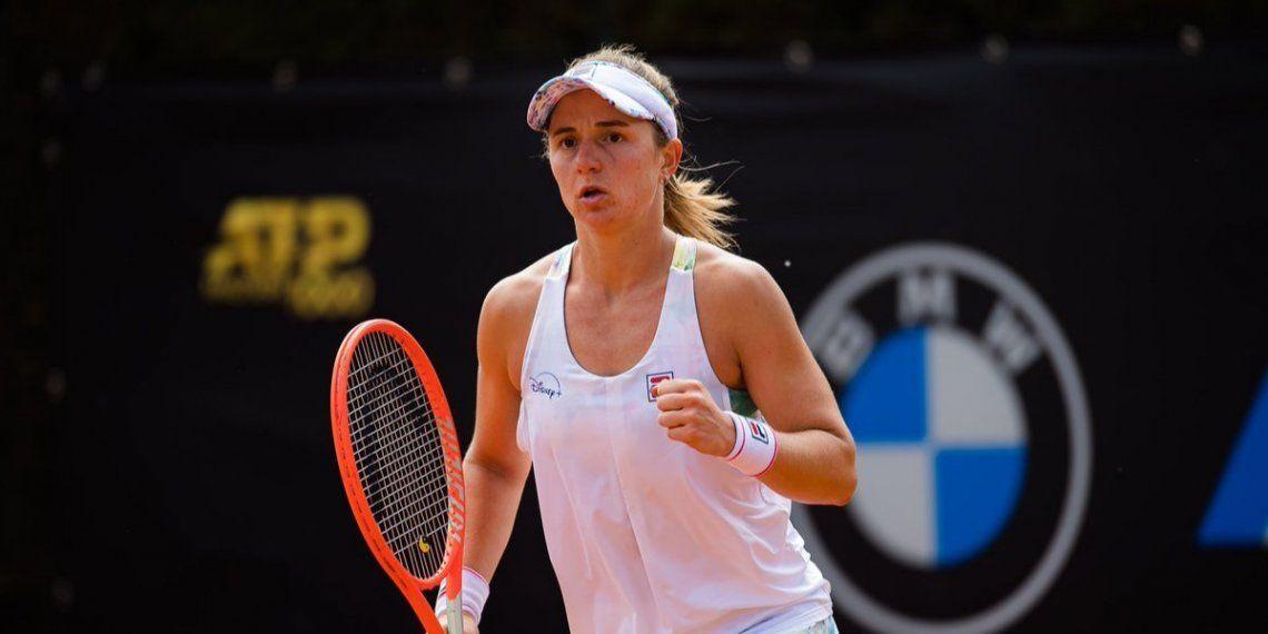 Podoroska debutó con un triunfo en Wimbledon