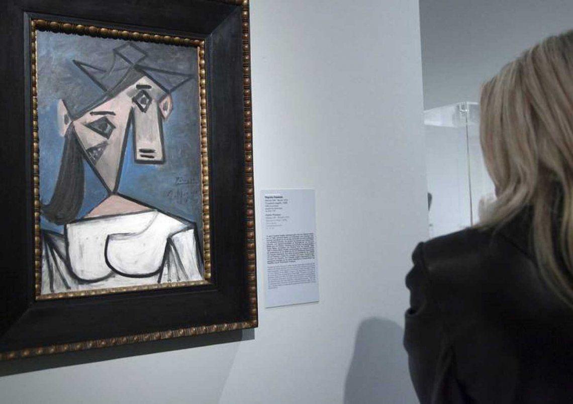 Recuperan cuadro de Picasso robado en la Galería Nacional de Atenas
