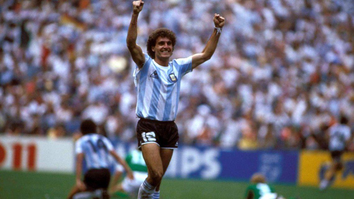 Ruggeri fue una pieza clave en el conjunto nacional que se quedó con la Copa del Mundo en México.