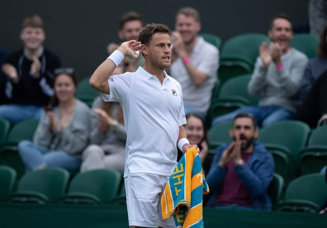 Schwartzman se instaló en la segunda ronda de Wimbledon