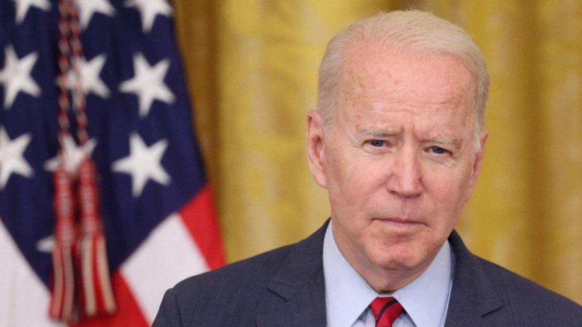 Biden se manifestó sobre las protestas en Cuba.