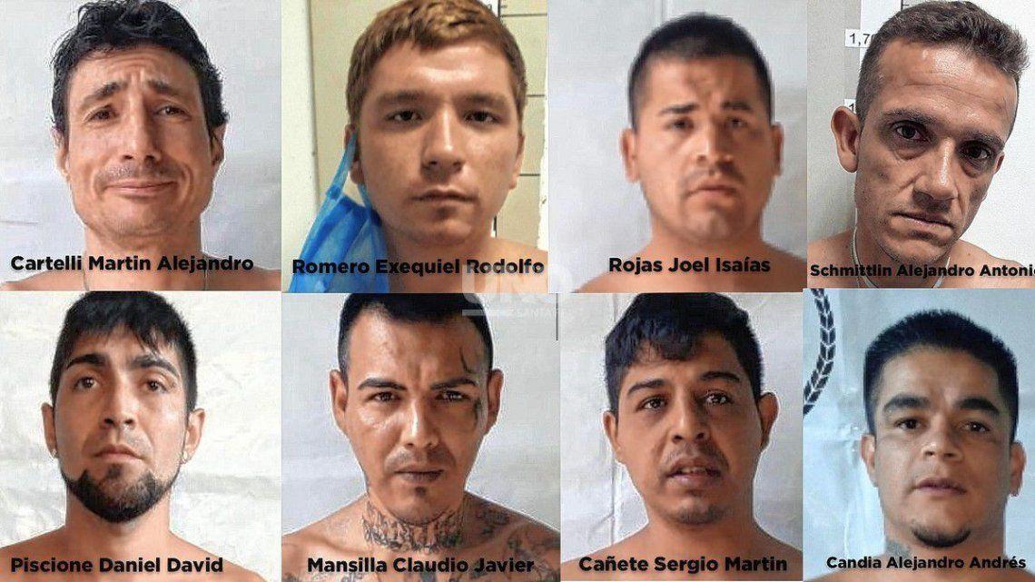 La fuga ocurrió el domingo a las 17.20 en la cárcel de Piñero