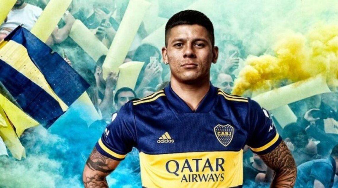 Marcos Rojo sería titula en Boca en el amistoso de mañana