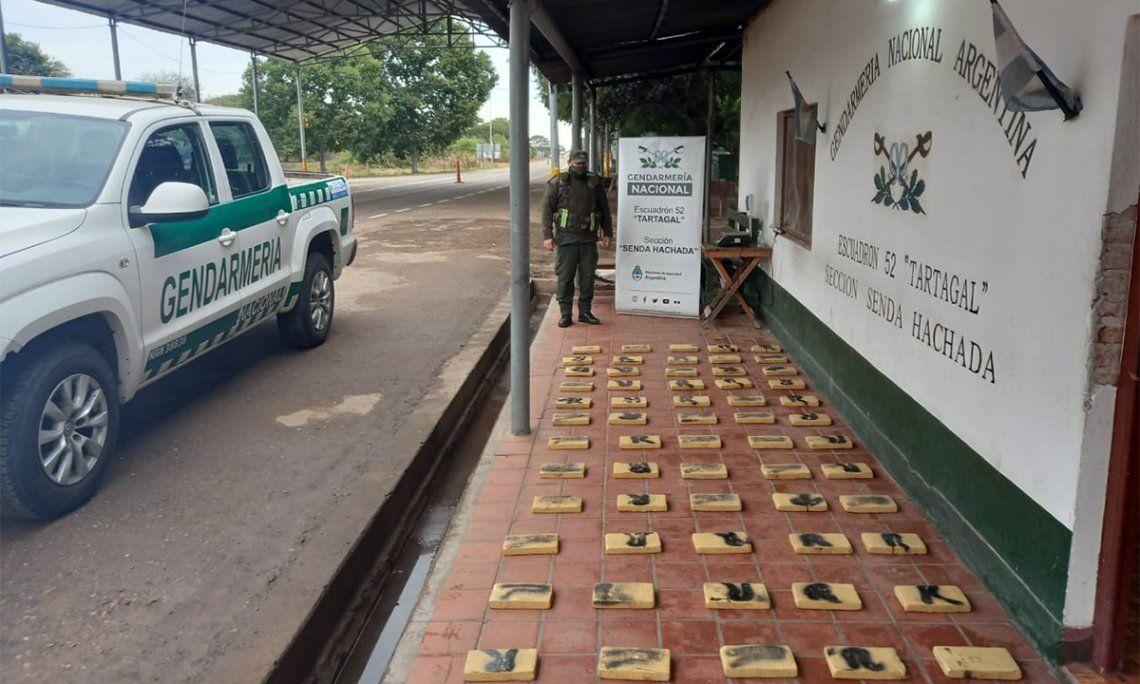 Salta: Secuestran 72 kgs de cocaína ocultos en una camioneta.