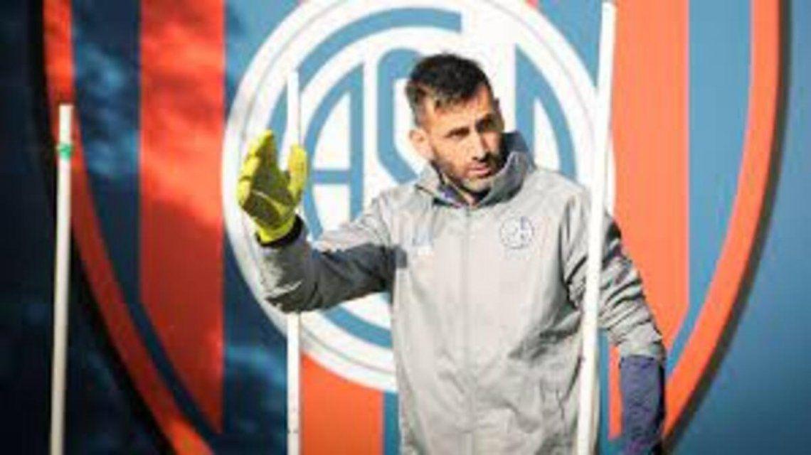 Torrico renovó su contrato con San Lorenzo.
