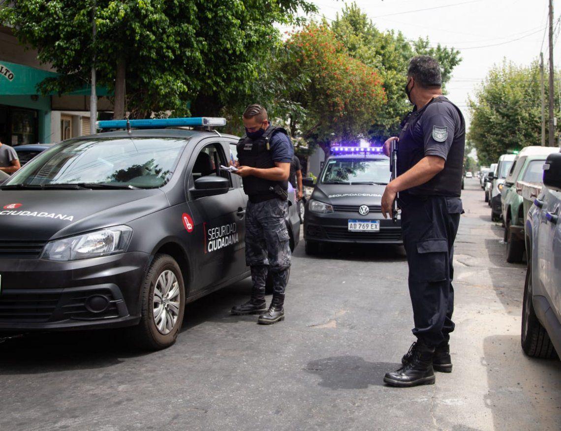 Patrulla de Respuesta Inmediata de Lanús logró más de 500 detenciones en 2021