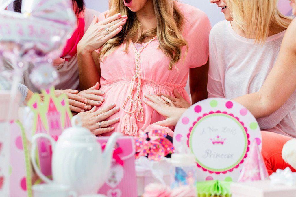 Embarazada con Covid organizó un baby shower