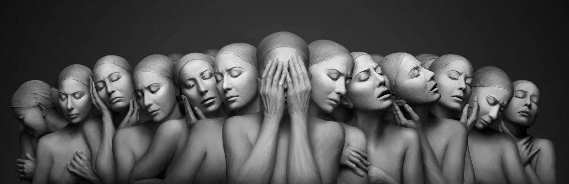 Solitude. El ganador absoluto del Fotógrafo Internacional de Retratos del Año fue este increíble trabajo de Forough Yavari de Australia.