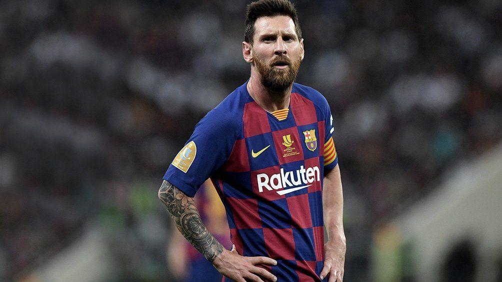 Lionel Messi acaba contrato con el Barcelona a medianoche.