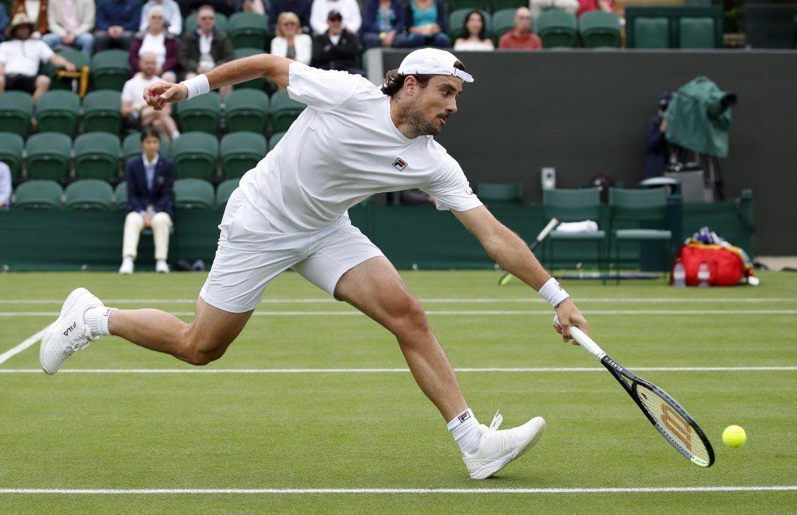 Guido Pella quedó eliminado del abierto de Wimbledon