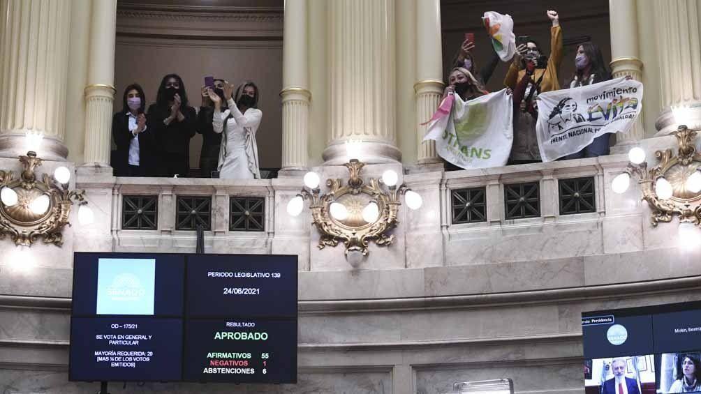 Fernández destacó las política de género de su Gobierno.