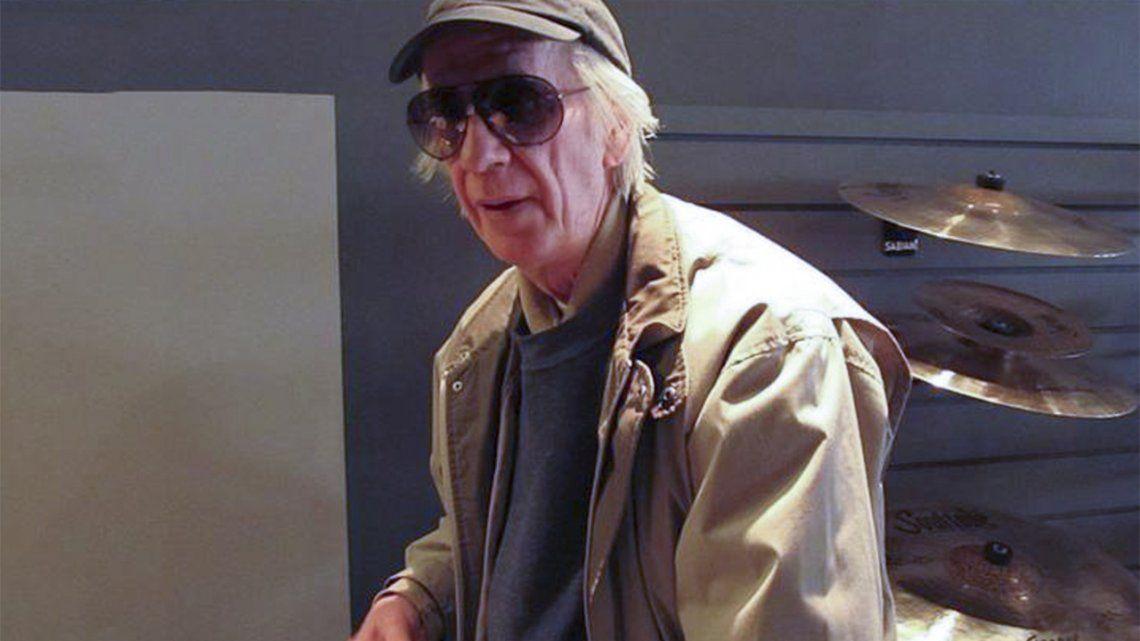 El baterista Horacio Gianello