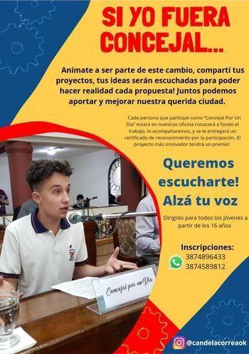 Salta: concejala hot abre convocatoria con $10 mil de premio