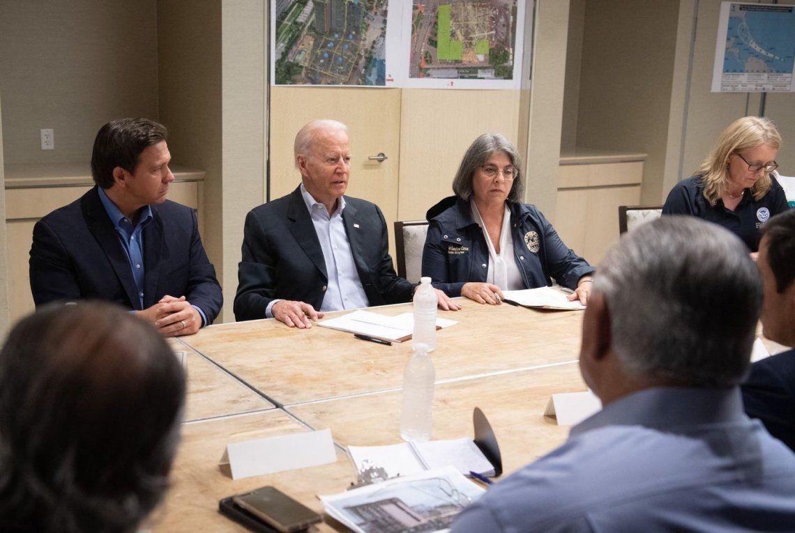 El presidente se reunió con la alcaldesa de Miami